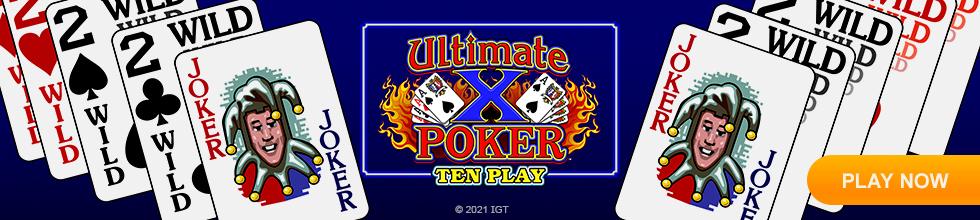 Ultimate X Ten Play Poker
