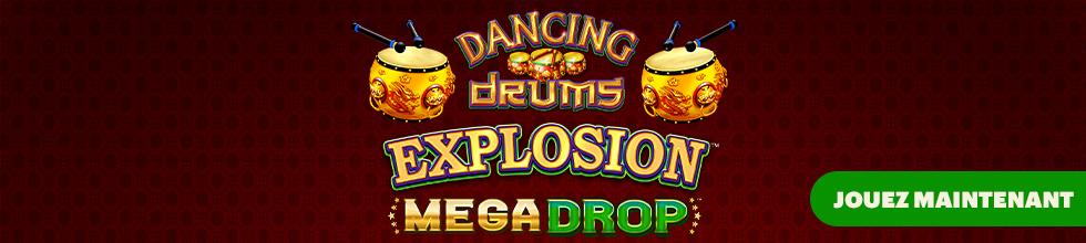 Dancing Drums Explosion Mega Drop