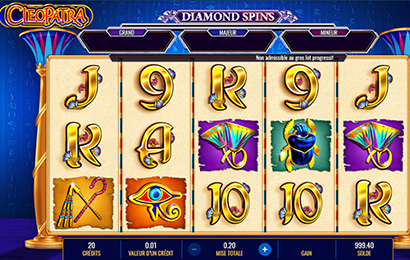 Diamond Spins™ Cleopatra™