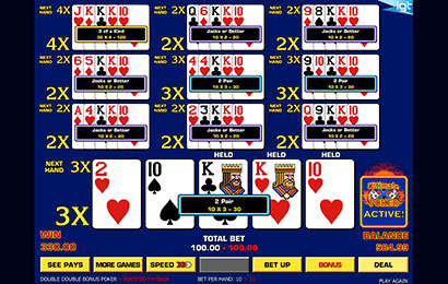Ultimate X Ten Play Draw Poker Video Poker Lotoquebec Com